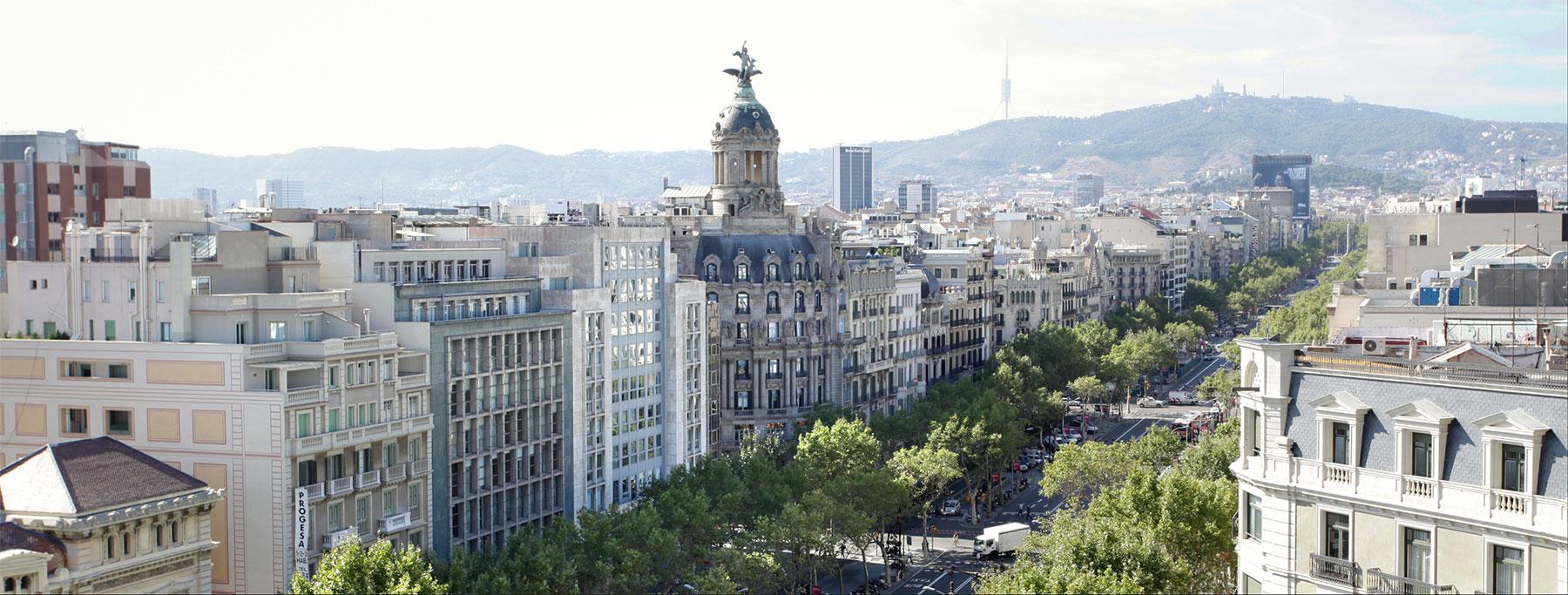 Renta Corporación, comprar edificio barcelona y madrid